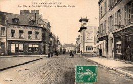 -CPA - 03 - COMMENTRY - Rue De Paris - Légère échancrure à Droite  - 592 - Commentry