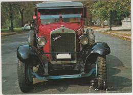 TAXI : MAGOTAX (1928) - 30 H.P. AUTOTAXI / TAXI-CAB - 'Red Taxi' By Hungarian General Machine Works - Hongarie/Hungaria - Taxi & Fiacre