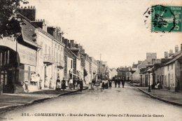 -CPA - 03 - COMMENTRY - Rue De Paris - 2 Coins Légèrement écornés - 597 - Commentry