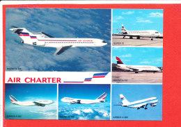 AVION   Cp Multivues AIR CHARTER - 1946-....: Moderne