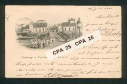 50 - Cherbourg - Le Pont Tournant - FA & Cie  Précurseur  1900 - Cherbourg