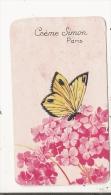 CREME SIMON PARIS CARTE PARFUMEE ANCIENNE - Perfume Cards
