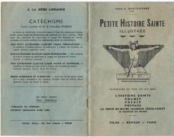 LIVRE   PETITE HISTOIRE SAINTE ILLUSTREE - Religion