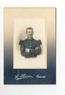 Photo XIXème Portrait D'un Militaire De La Musique Du 77 Régiment D'Infanterie ? Photo Héon Cholet - Guerra, Militares