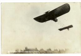 """1911 """"Mr Morison Flying Over Hove Lawns"""" Early Flight RP Pc Used Brighton - ....-1914: Precursori"""