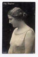 EDY VAYLAND  Vintage 1920/30´s Italian  Photo Postcard ( Cinema Movie Film Hollywood  Star ) - Actors