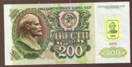 TRANSNISTRIE - Transdniestria 200 RUBLES 1994 / 1991 - Billets