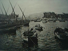 Magazine Item - 1930 A View At St Erasmo Palermo - 1900-1949