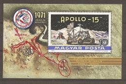 Hongrie Hungary Magyar Ungarn  **  N° YT BF 92  Apollo 15 - Space