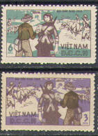 2057 Civil War Partisane Post 1966 Vietnam North 2v Set MNH ** - Vietnam
