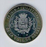 10 Euro Temporaire Precurseur LE HAVRE  1996, RRRR, BI-Metall, Nr. 373 - Euro Der Städte