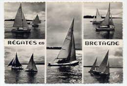 Régates En Bretagne - Participation Des Bateaux De Serie Canneton Restriction Corsaire - Bord Dentelé - Excellent état - Bretagne