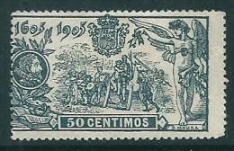 Spain 1905 Edifil 263 MM* - Unused Stamps