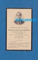 Carte Ancienne De Décés - Abbé F. BONNE , Curé De BLESMES / BLESME ( Marne ) - Vicaire à Chalons - 1927 - Documents Historiques