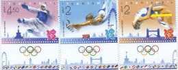 isr1213ats Israel 2012 Games of the XXX Olympic London 3v Taekwondo Gymnastics Bus Bridge