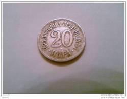 20 Para 1884 - YOUGOSLAVIE - TTB - - Yougoslavie