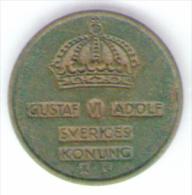 SVEZIA 1 ORE 1954 - Suecia