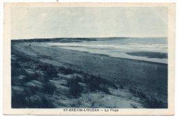 CP, 44, SAINT-BREVIN-l'OCEAN, La Plage, Voyagé En 1929 - Saint-Brevin-l'Océan