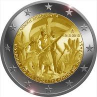 "** 2 EUROS COMMEMORATIVE "" Union Avec Crete ""GRECE 2013 PIECE NEUVE ** - Grecia"