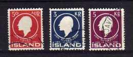 Iceland - 1961 - 150th Birth Anniversary Of Jon Sigurdsson - Used - 1944-... Republique