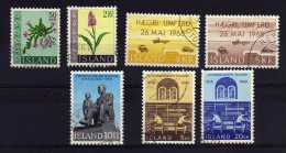 Iceland - 1968 - 3 Sets & 1 Single Stamp Issue - Used - 1944-... Republique