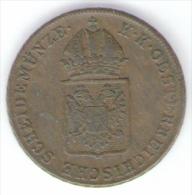 AUSTRIA EIN KREUZER 1816 - Autriche