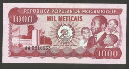 [NC] REPUBLICA POPULAR De MOCAMBIQUE - 1000 METICAIS (16 - 6 - 1980) - Mozambico