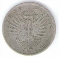 """REGNO D´ ITALIA - 1 LIRA """"Aquila Araldica"""" (1907) VITTORIO EMANUELE III / AG SILVER - 1861-1946 : Regno"""