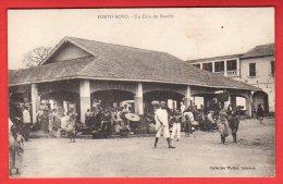 CPA: Dahomey - Porto-Novo - Un Coin Du Marché - Dahomey