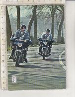PO2423C# MILITARI - CARABINIERI MOTOCICLISTI - MOTO GUZZI  VG 1973 - Andere