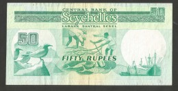 [NC] CENTRAL BANK Of SEYCHELLES - 50 RUPEES - Seychelles