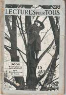 LECTURE POUR TOUS  15 JUILLET 1915 - AVIATION ROLAND GARROS - RAEMAEKERS - GENERAL D URBAL15 - Histoire