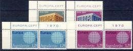 ##G651. Yugoslavia 1969-70. EUROPE/CEPT. Lot. MNH(**) - Verzamelingen & Reeksen