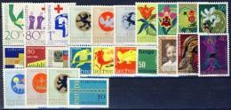 ##G652. Liechtenstein 1963-71. Lot. MNH(**) - Liechtenstein
