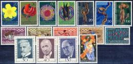 ##G656. Liechtenstein 1972. Lot. 16 Items. MNH(**) - Liechtenstein