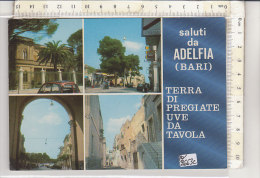 PO2663C# BARI - ADELFIA - TERRA DI UVA - DISTRIBUTORI BENZINA AGIP   VG 1980 - Bari