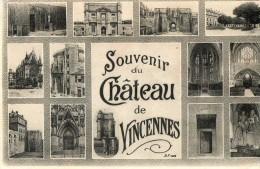 Souvenir Du Chateau De VINCENNES - Vincennes