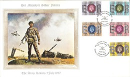 GREAT BRITAIN  # FDC  FROM YEAR 1977 - 1971-1980 Em. Décimales