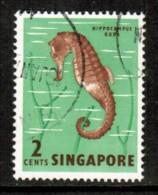 SINGAPORE     Scott  # 53  VF USED - Singapore (1959-...)