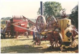 Dépt 63 - MONTAIGUT-EN-COMBRAILLE - Batteuse Battage Machine Vapeur Merlin & Cie - Fête Moisson (env. Montluçon, Gannat) - France