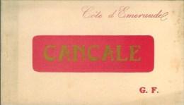 35 CANCALE Beau Carnet De 20 Cartes - Cancale
