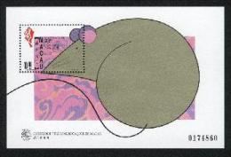 1996 Macau/Macao Stamp S/s - Year Of The Rat Chinese New Year Zodiac Mouse - Knaagdieren