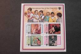 Swaziland 328s Souvenir Sheet MNH Paintings By Renoir International Year Of The Child IYC 1979 A04s - Swaziland (1968-...)