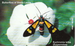 SIERRA LEONE - Butterflies Of Sierra Leone/Euchromia Lethe(25 Units), Mint - Sierra Leone