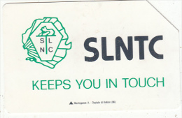 SIERRA LEONE - SLNTC Logo, First Issue 50 Units, Used - Sierra Leone