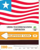 LIBERIA - Liberian Flag, First Issue 100 Units, Mint - Liberia