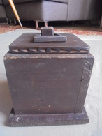 Ancien - Boite En Bois Fabrication Artisanale - Boîtes/Coffrets