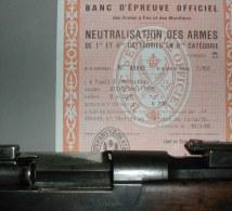 Fusil STEYR M86 ,démilitarisé Saint Etienne - Decorative Weapons