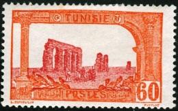 TUNISIA, FRENCH PROTECTORATE, ACQUEDOTTO ROMANO, 1925, FRANCOBOLLO NUOVO (MLH*), Mi 81, Scott 49, Yt 105 - Tunisie (1888-1955)