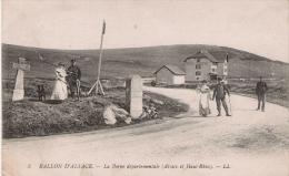 BALLON D'ALSACE 5 LA BORNE DEPARTEMENTALE (ALSACE ET HAUT RHIN) 1917 - Douane